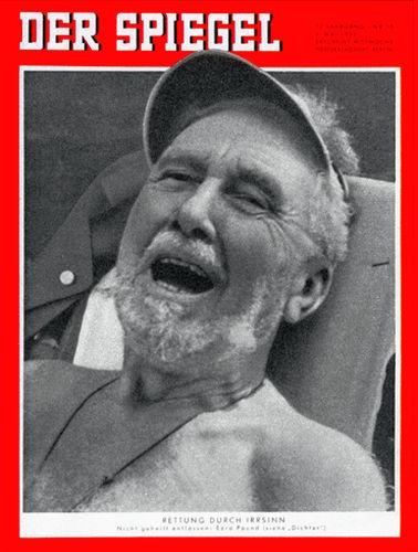 DER SPIEGEL Nr. 19, 7.5.1958 bis 13.5.1958