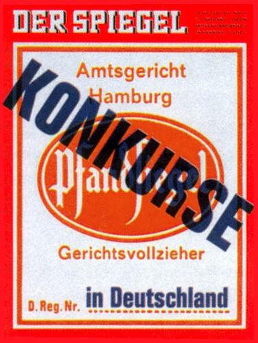 DER SPIEGEL Nr. 36, 28.8.1967 bis 3.9.1967