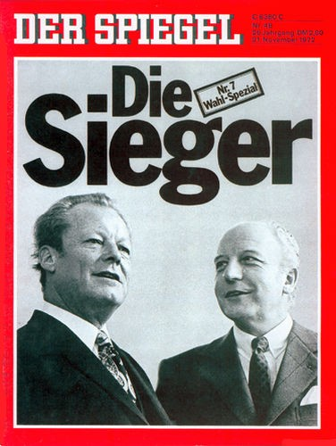 DER SPIEGEL Nr. 48, 21.11.1972 bis 27.11.1972