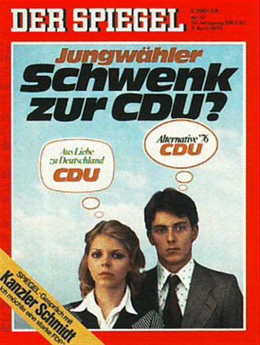 DER SPIEGEL Nr. 15, 5.4.1976 bis 11.4.1976