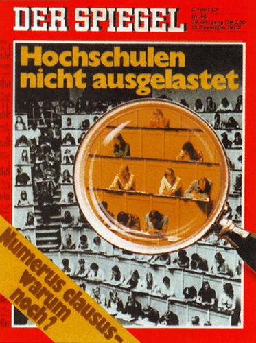 DER SPIEGEL Nr. 46, 10.11.1975 bis 16.11.1975