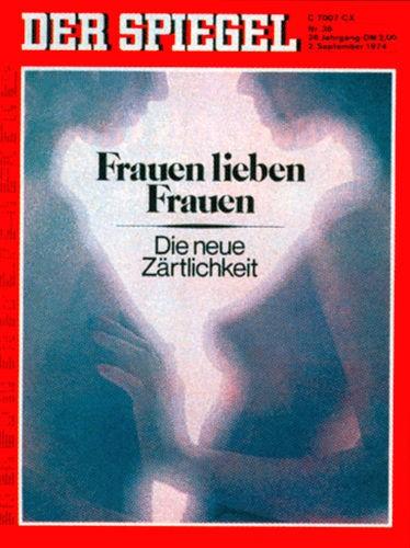 DER SPIEGEL Nr. 36, 2.9.1974 bis 8.9.1974
