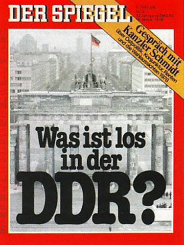 DER SPIEGEL Nr. 3, 16.1.1978 bis 22.1.1978
