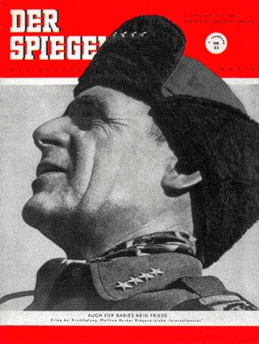 DER SPIEGEL Nr. 23, 6.6.1951 bis 12.6.1951