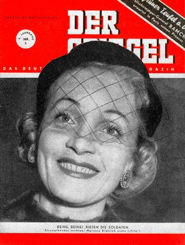 DER SPIEGEL Nr. 1, 3.1.1951 bis 9.1.1951