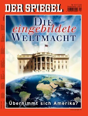 DER SPIEGEL Nr. 12, 17.3.2003 bis 23.3.2003