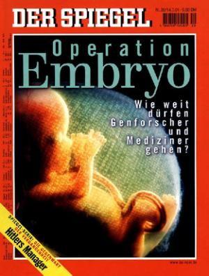 DER SPIEGEL Nr. 20, 14.5.2001 bis 20.5.2001
