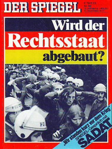 DER SPIEGEL Nr. 50, 5.12.1977 bis 11.12.1977