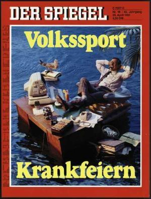 DER SPIEGEL Nr. 18, 29.4.1991 bis 5.5.1991