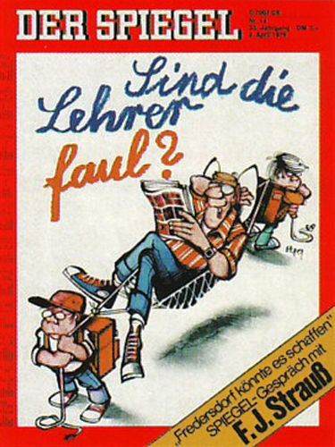 DER SPIEGEL Nr. 14, 2.4.1979 bis 8.4.1979