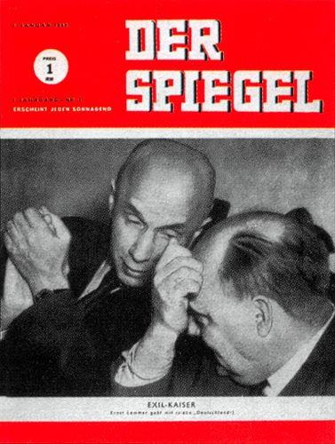 DER SPIEGEL Nr. 1, 3.1.1948 bis 9.1.1948