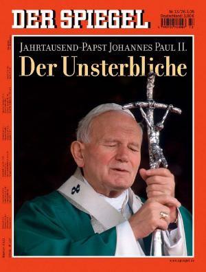 DER SPIEGEL Nr. 13, 26.3.2005 bis 1.4.2005