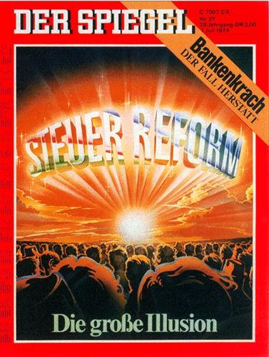 DER SPIEGEL Nr. 27, 1.7.1974 bis 7.7.1974