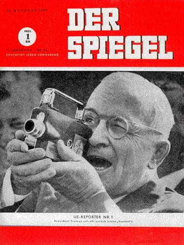 DER SPIEGEL Nr. 43, 16.10.1947 bis 22.10.1947