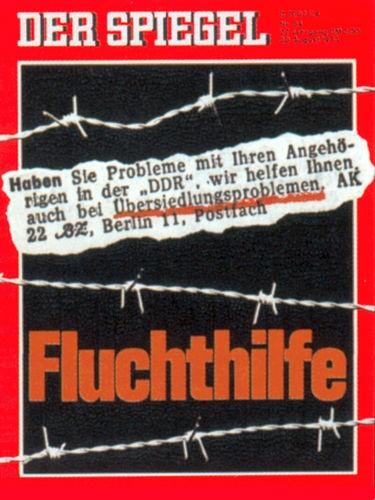 DER SPIEGEL Nr. 34, 20.8.1973 bis 26.8.1973
