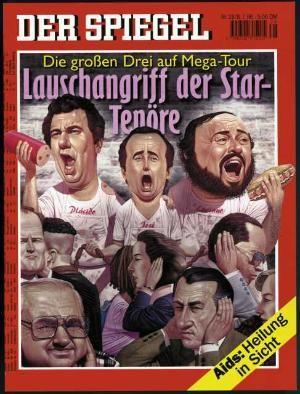 DER SPIEGEL Nr. 28, 8.7.1996 bis 14.7.1996