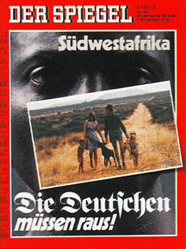 DER SPIEGEL Nr. 45, 1.11.1976 bis 7.11.1976