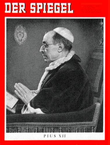 Original Zeitung DER SPIEGEL vom 15.10.1958 bis 21.10.1958