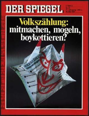 DER SPIEGEL Nr. 21, 18.5.1987 bis 24.5.1987