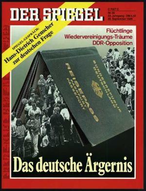 DER SPIEGEL Nr. 39, 25.9.1989 bis 1.10.1989