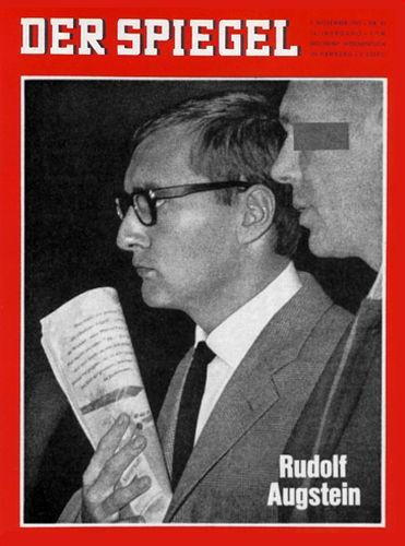 DER SPIEGEL Nr. 45, 7.11.1962 bis 13.11.1962