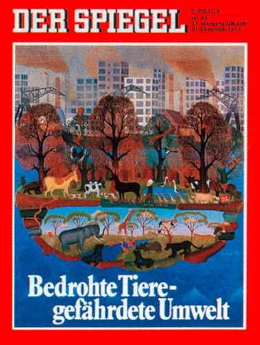 Original Zeitung DER SPIEGEL vom 31.12.1973 bis 6.1.1974