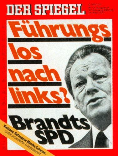 DER SPIEGEL Nr. 13, 26.3.1973 bis 1.4.1973
