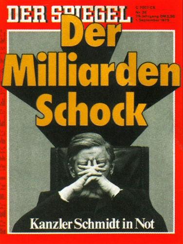 DER SPIEGEL Nr. 36, 1.9.1975 bis 7.9.1975