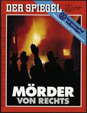 DER SPIEGEL Nr. 49, 30.12.1992 bis 5.1.1993