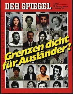 Der Spiegel 50/1981, Ausländer