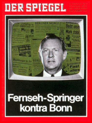 DER SPIEGEL Nr. 5, 26.1.1970 bis 1.2.1970