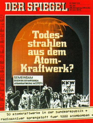 DER SPIEGEL Nr. 30, 21.7.1975 bis 27.7.1975