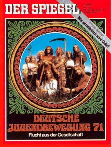 DER SPIEGEL Nr. 33, 9.8.1971 bis 15.8.1971