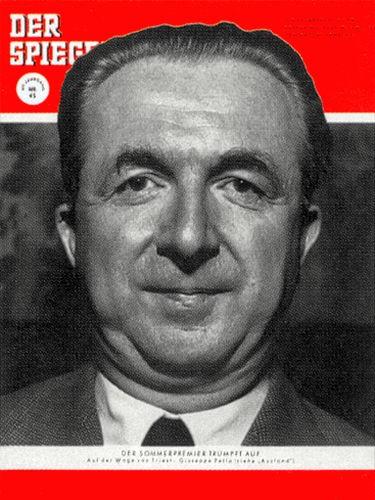 DER SPIEGEL Nr. 45, 4.11.1953 bis 10.11.1953