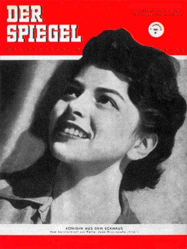 Original Zeitung DER SPIEGEL vom 21.2.1951 bis 27.2.1951