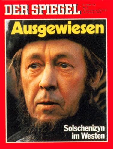 DER SPIEGEL Nr. 8, 18.2.1974 bis 24.2.1974