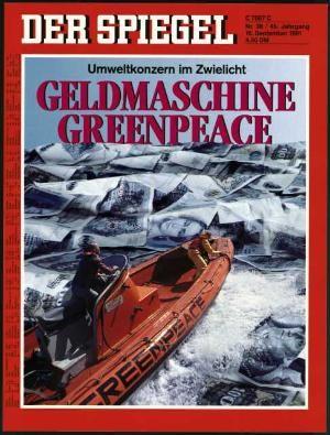 DER SPIEGEL Nr. 38, 16.9.1991 bis 22.9.1991