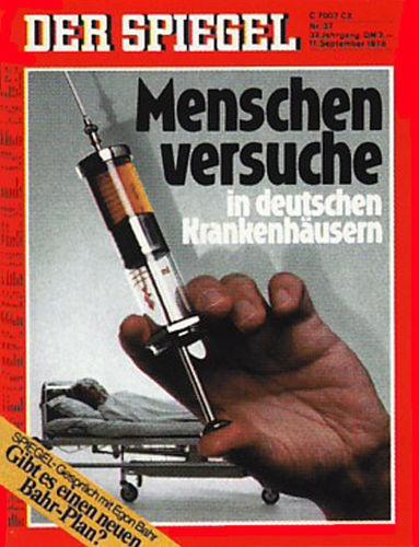 DER SPIEGEL Nr. 37, 11.9.1978 bis 17.9.1978