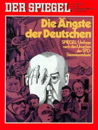 DER SPIEGEL Nr. 16, 15.4.1974 bis 21.4.1974