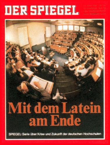 DER SPIEGEL Nr. 26, 23.6.1969 bis 29.6.1969