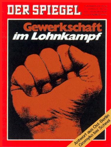 Original Zeitung DER SPIEGEL vom 2.11.1970 bis 8.11.1970